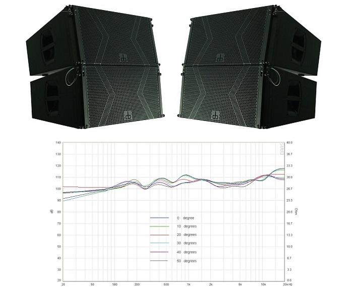 Loa array DB LA 212F chất lượng vượt trội