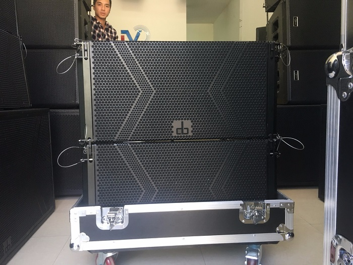 Loa array DB LA 212F 2 bass 30, 2 treble NEO