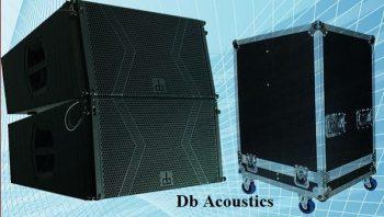 Loa DB LA-112F và thùng đựng loa array