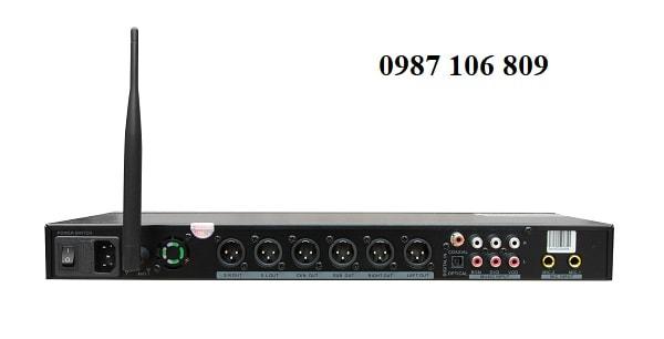 Mặt sau Vang số PROLAB DSP Z-2000
