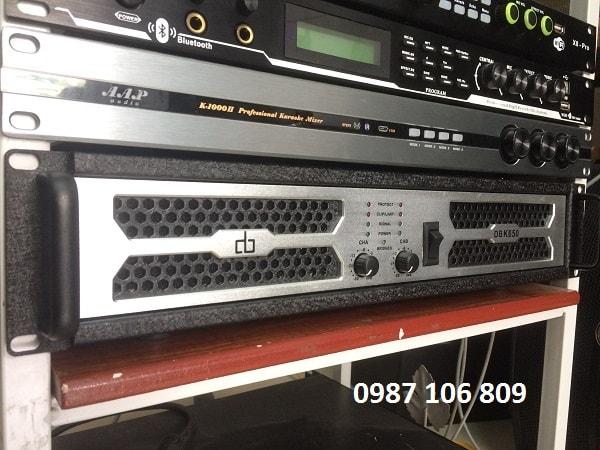 Cục đẩy DB K650 tại Sơn Tùng audio