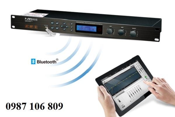 Vang số Partyhouse DAK A6 tích hợp Bluetooth