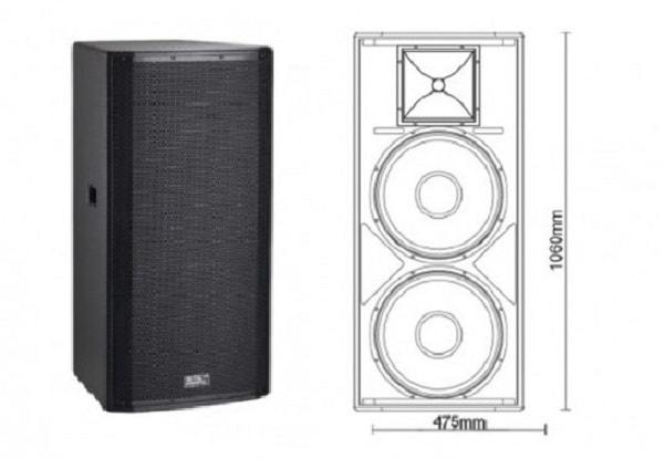 Loa Soundking H215 – loa hội trường