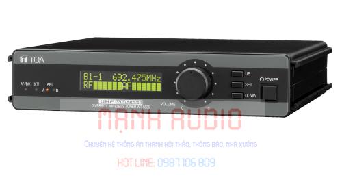 Khối thu không dây TOA WT-5805 F01