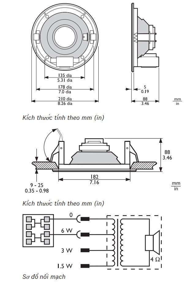 Loa Bosch LBC 3090/01
