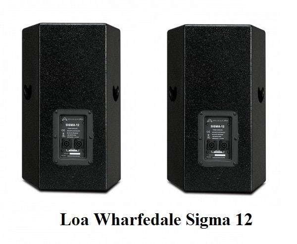 Mặt sau Loa Wharfedale Sigma 12