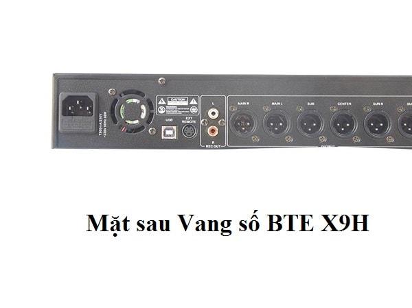 Vang số BTE X9H chống hú tốt cho mic