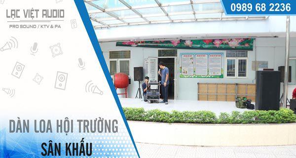 <center>Giới thiệu hệ thống âm thanh hàng đầu Lạc Việt Audio</center>