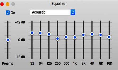 Cách chỉnh equalizer nghe nhạc vàng 31 biến trở cho 31 bands âm tần