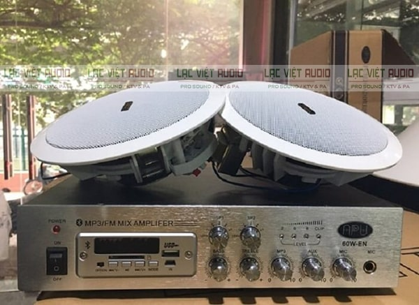 Combo loa âm trần hoạt động tốt hơn nhờ có khả năng tương thích cao