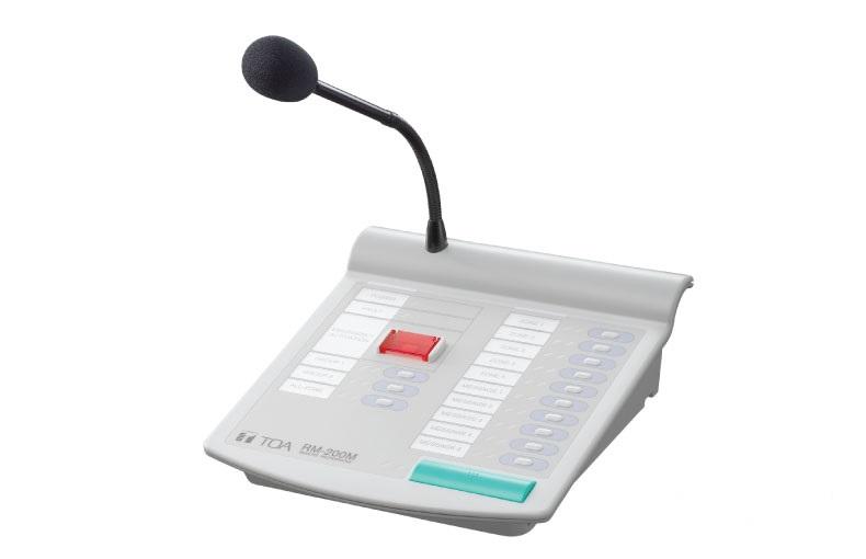 Micro thông báo chọn vùng