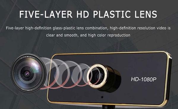 Chất lượng ống kính camera họp trực tuyến