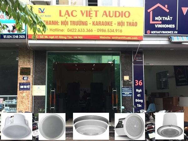 Mua các combo loa âm trần chất lượng uy tín nhất tại Lạc Việt Audio