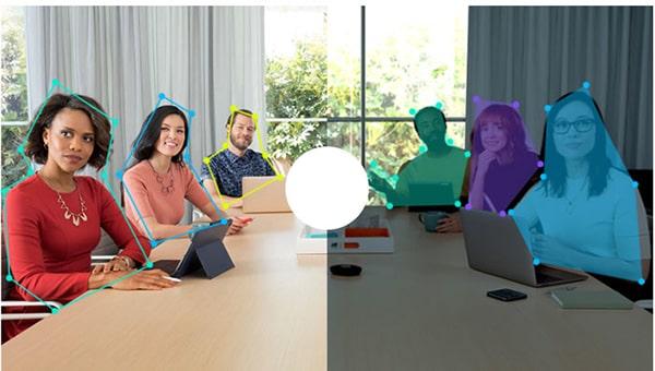 Khả năng ghi hình trong ánh sang thấp của camera họp online