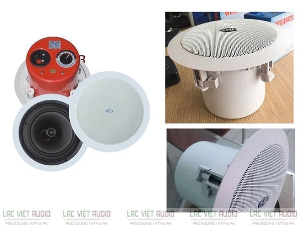 Lựa chọn thiết bị phù hợp cho lắp đặt loa âm trần